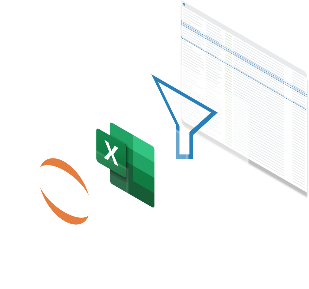 ThinkData easily connects to Excel, Jupyter Notebooks, and more